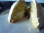 ...when cut, the cake will filling will look something like this.